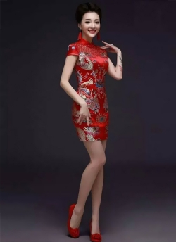 东北北京旗袍