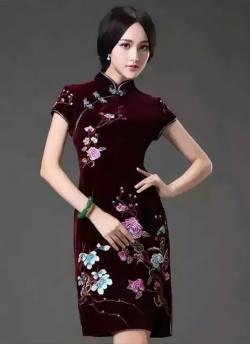 东北辽宁旗袍